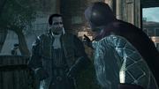 Dante et Silvio a l'arsenal