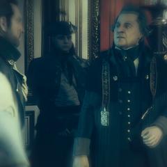 弗朗索瓦将日耳曼逐出圣殿骑士组织