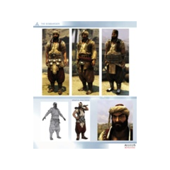 La personnalisation 1, 2 et 3 de <b>Kadir</b>