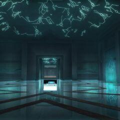 Inner chamber of the Vatican Vault