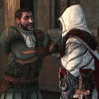 Bartolomeo accueillant Ezio