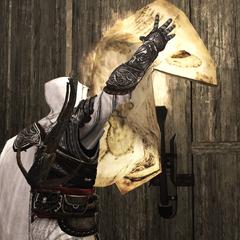 Ezio détruisant les plans du char