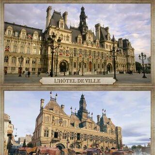 Comparaison avec l'édifice actuel