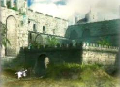 Alep Citadel with Horse