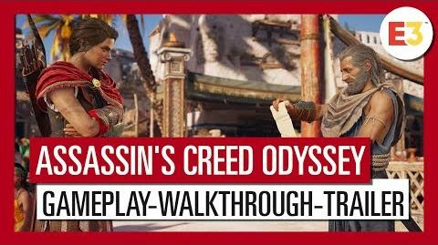 Assassin's Creed Odyssey E3 2018 Gameplay-Walkthrough-Trailer