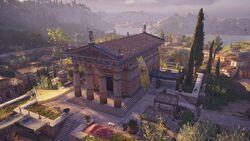 ACOD Megara Temple of Apollo