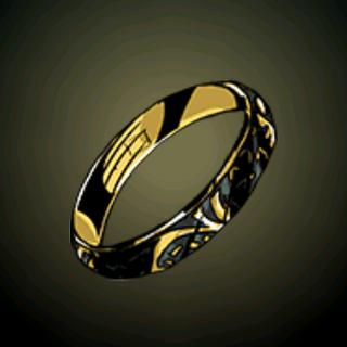 纪念戒指 - 死亡是人生必经部分。这遗物曾经属于一个尊贵的地主家庭。