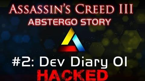 Assassin's Creed III Abstergo Story 2 Dev Diary 01 Hack