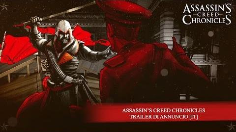 Assassin's Creed Chronicles - Trailer di Annuncio IT