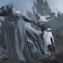 Altaïr affrontant <b>Robert</b>