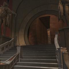 王座室入口
