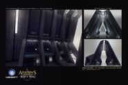 ACIV Abstergo Entertainment Serveurs concept 4
