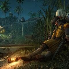 Edward assassinant un garde dans une plantation de <b>La Havane</b>