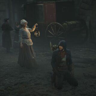 Margot parlant avec Arno