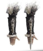 Edward's hidden blade - concept art