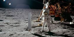 AC2 - Buzz Aldrin on Moon