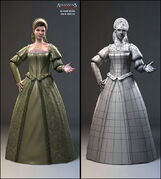 AC2 Alternate female civilian Concept renders by Nicolas Collings