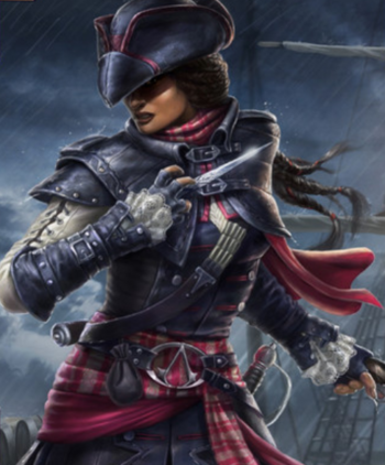 """Aveline w <a href=""""/wiki/Assassin%27s_Creed:_Memories"""" title=""""Assassin's Creed: Memories"""">Assassin's Creed: Memories</a>"""