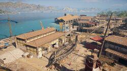 ACOD Patrai Military Shipyard