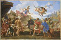 Contesa tra Achille ed Agamennone - Gaulli