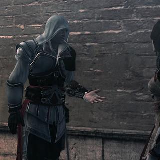 埃齐奥试图和克里斯蒂娜讲道理