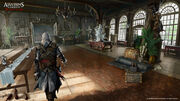 AC4 Great Inagua Manor Interior - Concept Art 3