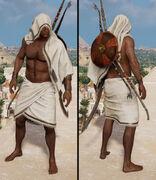 Bathrobe towel outfit