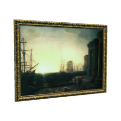"AC4DB - ""Harbour Scene at Sunset"""
