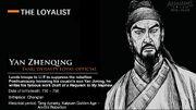 ACDy CharacterBio(YanZhenqing) (Translated)