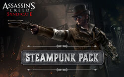 ACS Steampunk Pack Promotional Banner