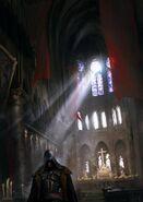 ACU Notre-Dame Interieur Concept Art