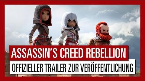 Assassin's Creed Rebellion – Veröffentlichungstrailer Ubisoft