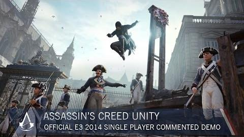 Assassin's Creed Unity Official E3 2014 Single Player Commented Demo US