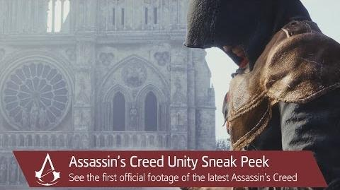 Assassin's Creed Unity Sneak Peek Video