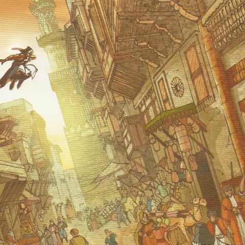 1250年一名无名刺客在埃及自由奔跑