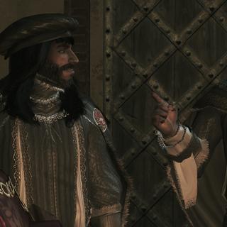 圣殿骑士会议上的贝尔纳多