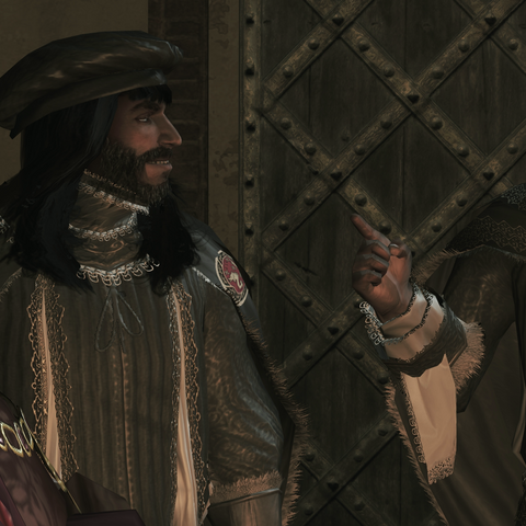 Bernardo at the Templar meeting
