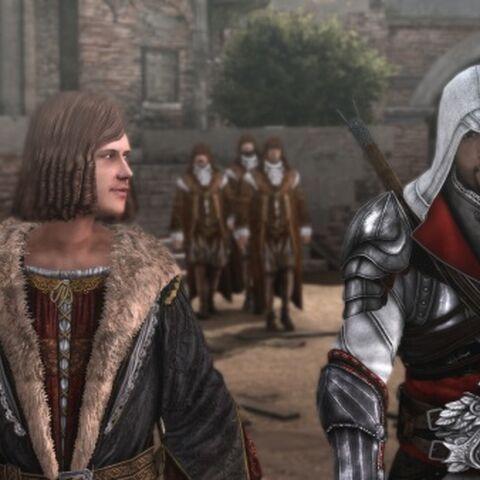 Ezio und Salai