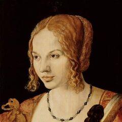 丟勒的索菲亞畫像