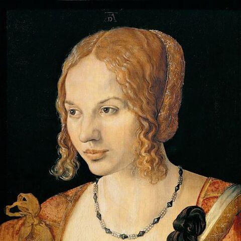 <i>威尼斯女人的肖像</i>