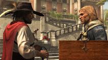 ז'וליאן נותן לאדוארד להבים חבויים