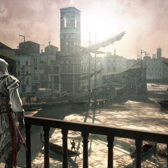 Ezio face au Grand Canal