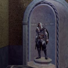 Ezio à l'intérieur de Saint-Marc