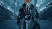 ACOD Pythagoras gives staff to Kassandra