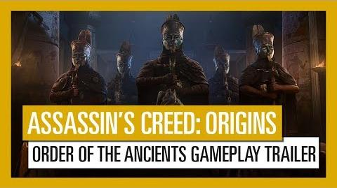 Assassin's Creed Origins - Order of the Ancients Gameplay Trailer