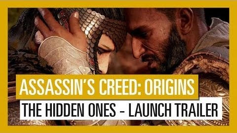 Assassin's Creed Origins The Hidden Ones - Launch Trailer