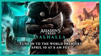 Assassin's Creed Valhalla Cinematic World Premiere Trailer Ubisoft NA