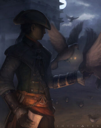 """Aveline w <a href=""""/wiki/Assassin%27s_Creed:_Initiates?action=edit&redlink=1"""" class=""""new"""" title=""""Assassin's Creed: Initiates (strona nie istnieje)"""">Assassin's Creed: Initiates</a>"""