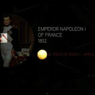 拿破仑一世的苹果