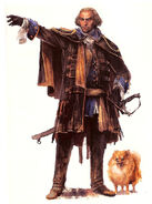 Early Charles Lee - Concept Art